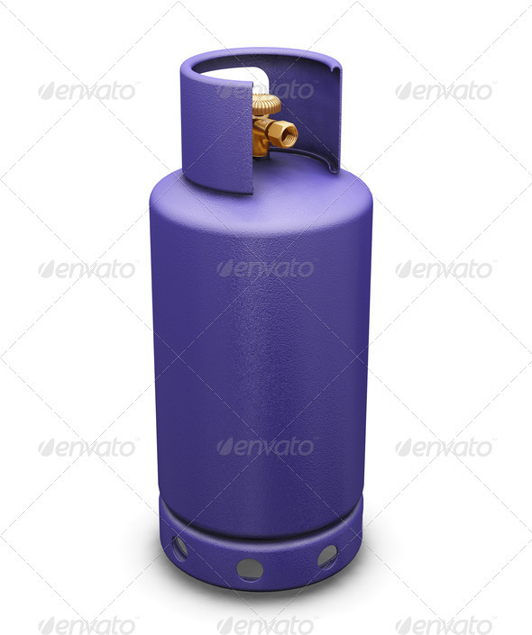 Graphic River Butane gas Graphics -  3D Renders  Objects 306022
