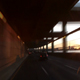 NYC Morning Drive FDR Sun On Tunnel - VideoHive Item for Sale