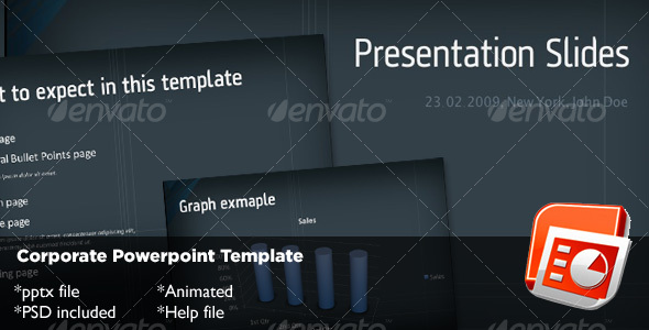 Graphic River Corporate Powerpoint Template Presentation Templates -  Powerpoint Templates  Business 72667