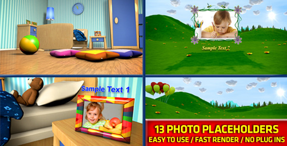 After Effects Project - VideoHive Baby Photo Album 2906759