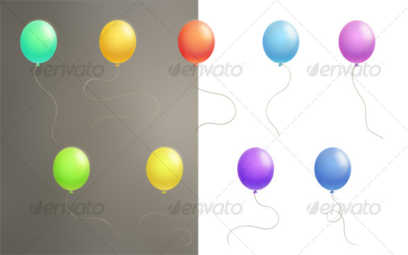 GraphicRiver Color Balloons 104771
