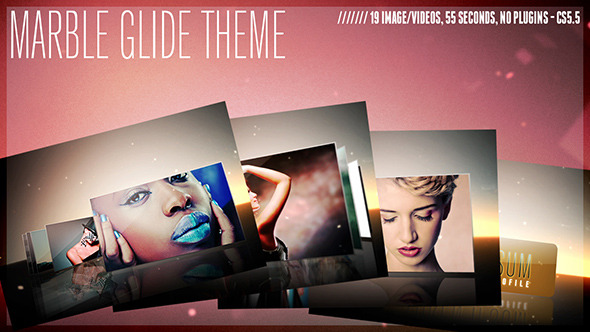 After Effects Project - VideoHive Marble Glide Theme 2911556