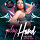 Play Hard Party Flyer Template - GraphicRiver Item for Sale