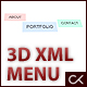 3D XML MENU - ActiveDen Item for Sale