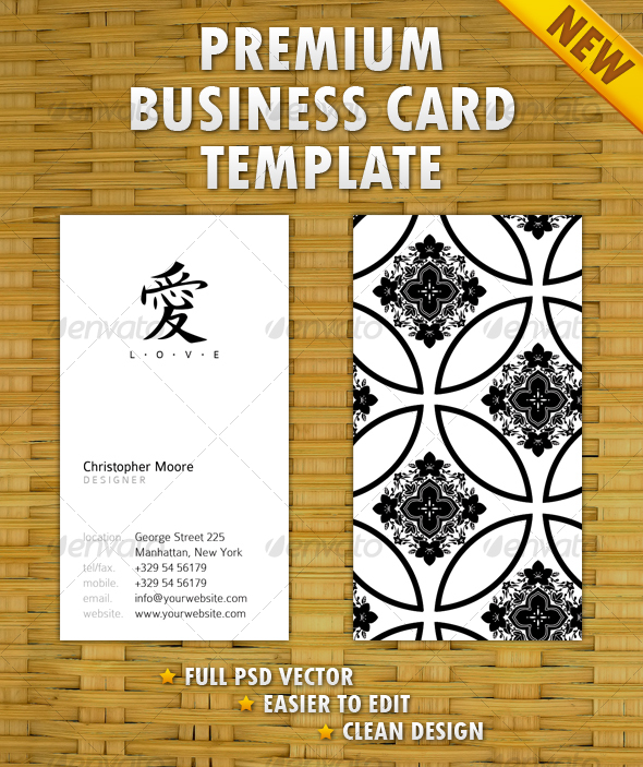 GraphicRiver Clean Business Card 104914