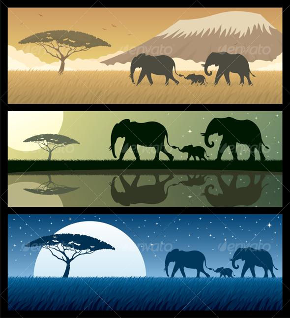 GraphicRiver Africa Landscapes 2 103293