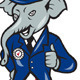 Republican Elephant Mascot Thumbs Up - GraphicRiver Item for Sale