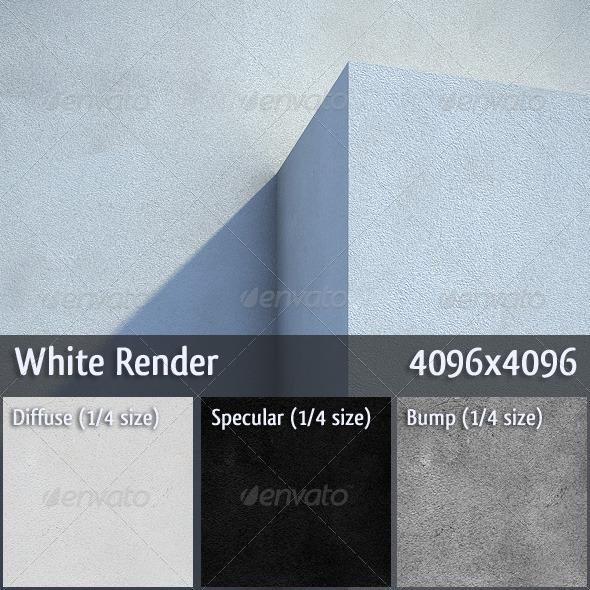 3DOcean White Render 306914