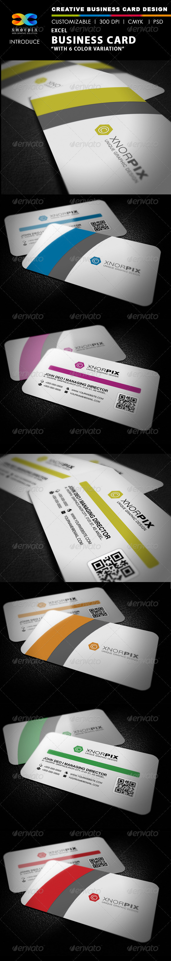 GraphicRiver Excel Business Card 2920067