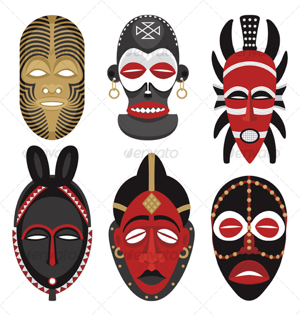 GraphicRiver African Masks 2 82231