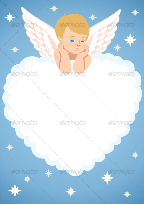 GraphicRiver Cupid Frame 82473