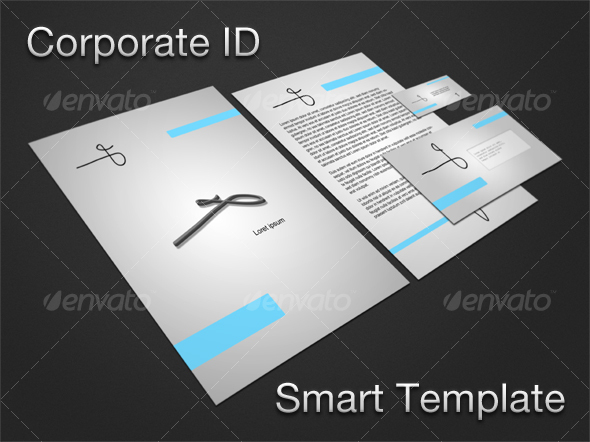 GraphicRiver Corporate ID Smart Template 105163
