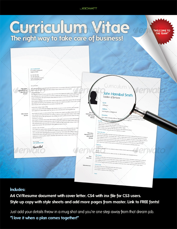 GraphicRiver Curriculum Vitae 105196