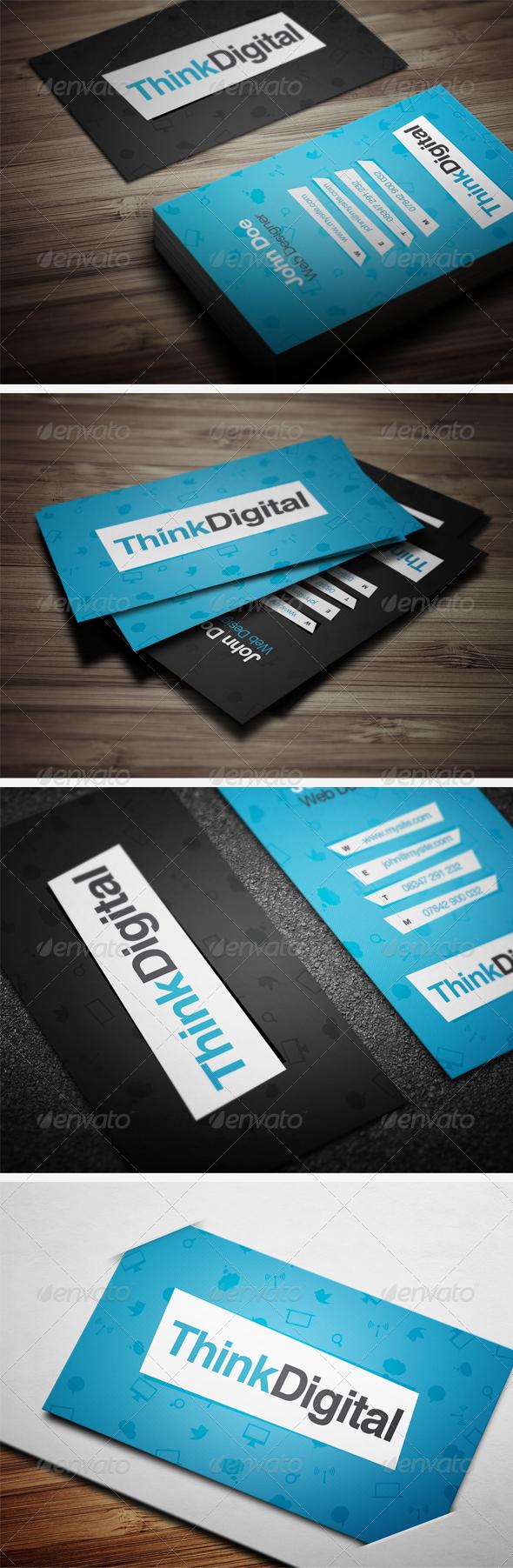 GraphicRiver Designer Business Card 2415283