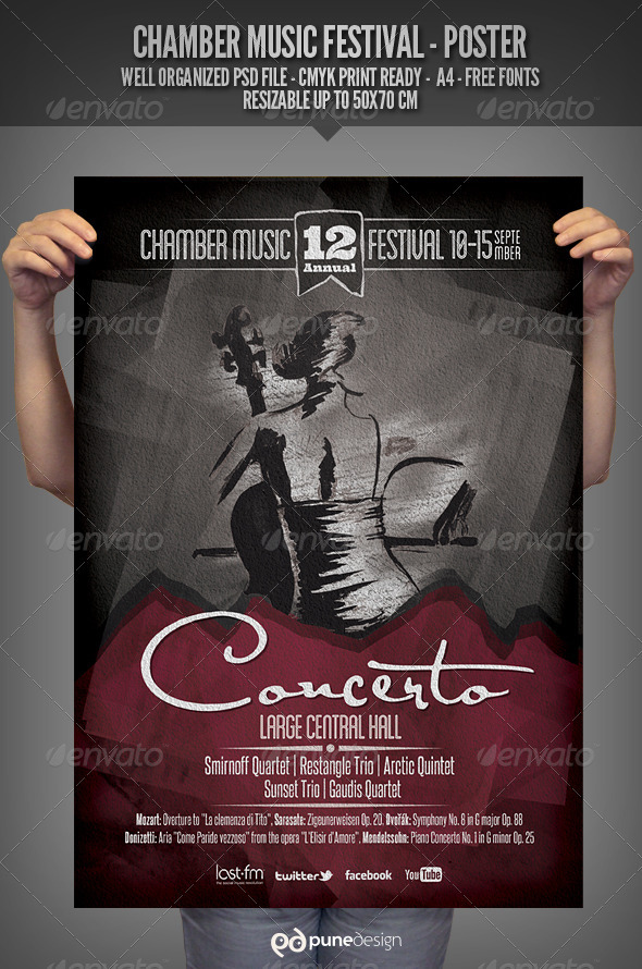 GraphicRiver Chamber Music Festival Poster 2943325