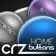 9 Rounded Buttons - GraphicRiver Item for Sale