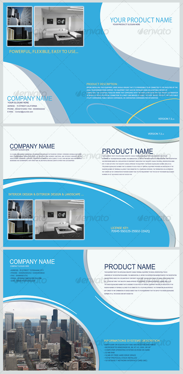 GraphicRiver Product Show Brochure 105330