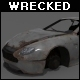 Wrecked Aston Martin DB7 - 3DOcean Item for Sale
