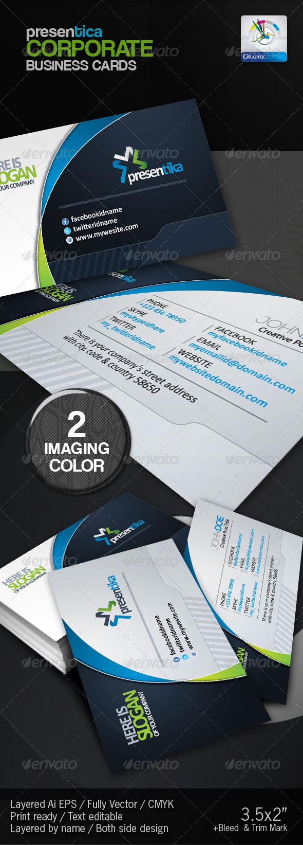 GraphicRiver Presentica Corporate Business Card 2947973