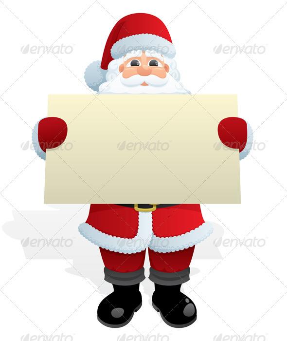 GraphicRiver Santa Message 121908