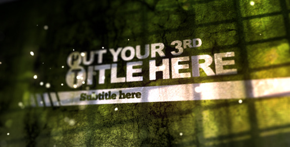 After Effects Project - VideoHive Old Wall Logo Animation 2659656