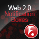 Web 2.0 Notification Boxes - GraphicRiver Item for Sale