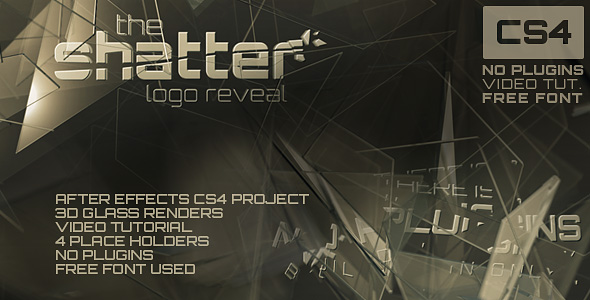 After Effects Project - VideoHive The Shatter 104762