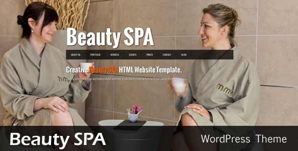 ThemeForest Beauty SPA Ajaxified WordPress CMS Theme WordPress Retail Health & Beauty 2953387