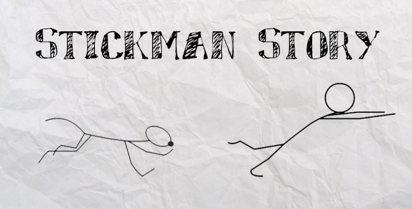 VideoHive Stickman Promo Story 2954658