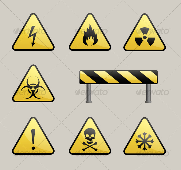 GraphicRiver Warning Signs 105561