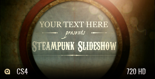 After Effects Project - VideoHive Steampunk Slideshow 2955538