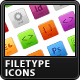 Resizable Filetype Buttons - GraphicRiver Item for Sale