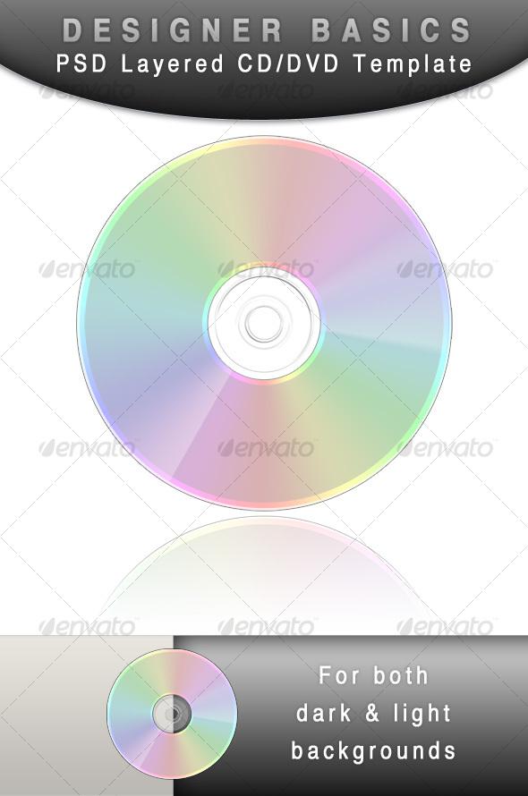 GraphicRiver CD DVD template Designer Basic 104327