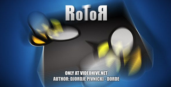 After Effects Project - VideoHive RotoR 307875