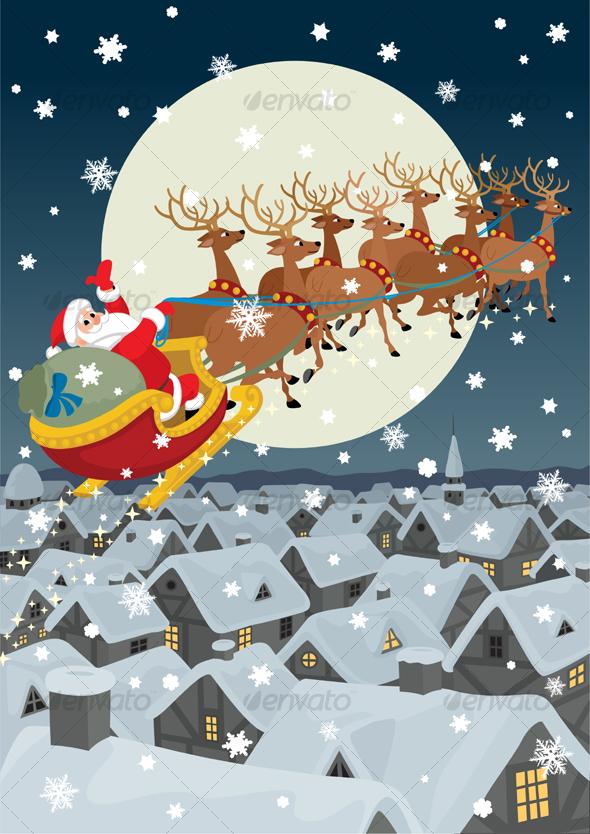 GraphicRiver Santa 83968
