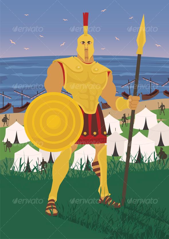 GraphicRiver Achilles 85894