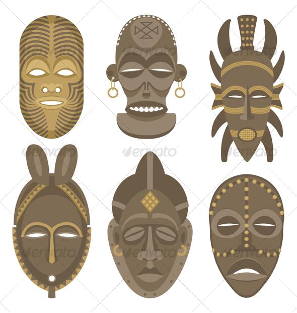 GraphicRiver African Masks 85900