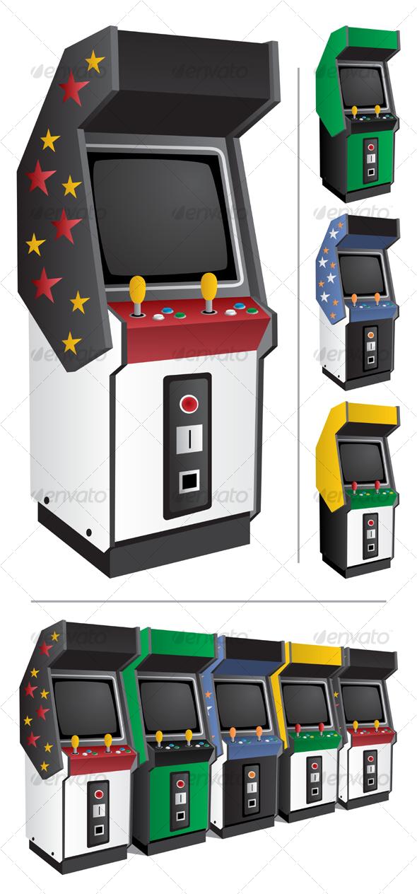 GraphicRiver Arcade Games 86570