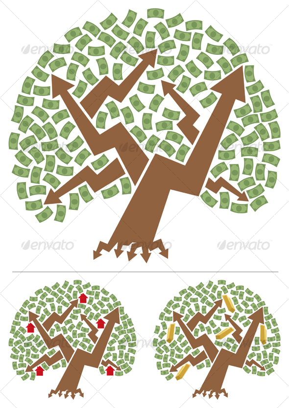 GraphicRiver Investments Tree 86986