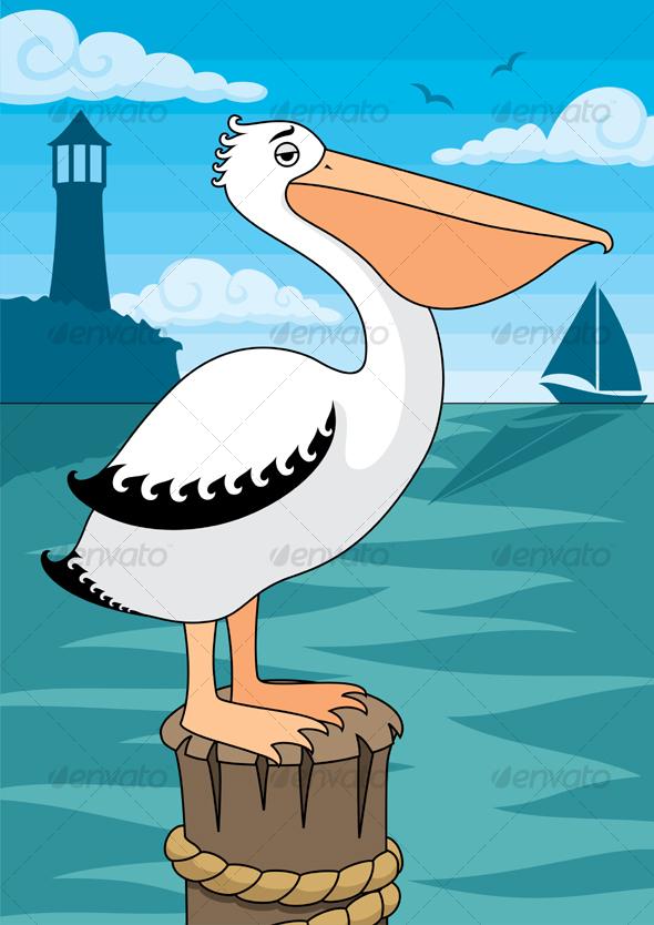 GraphicRiver Pelican 87484