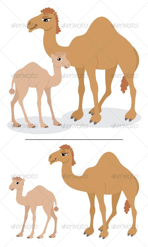 GraphicRiver Camels 88782
