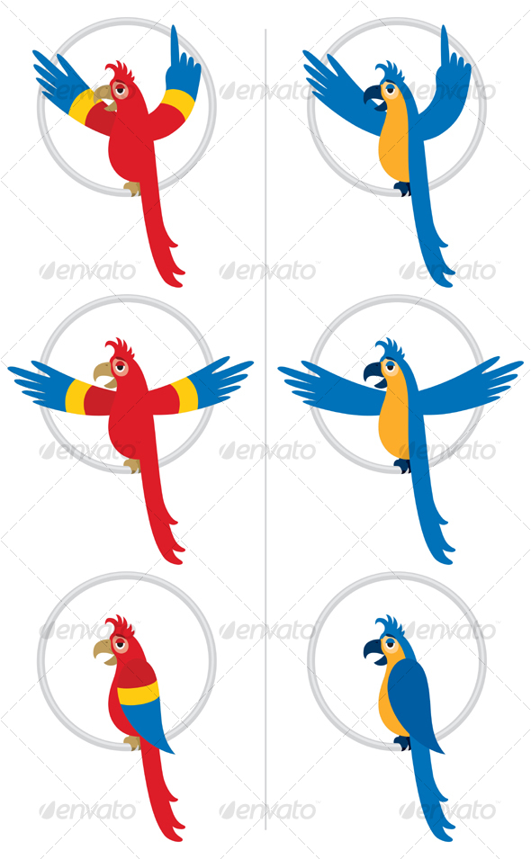 GraphicRiver Parrot 89567