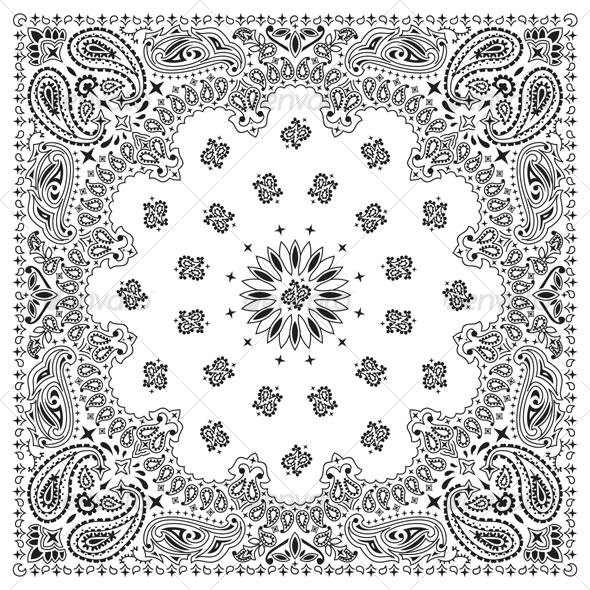 GraphicRiver Bandana White 89877