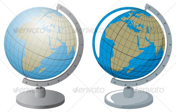 GraphicRiver Globus 90435
