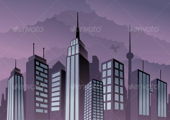 GraphicRiver Cityscape 93379