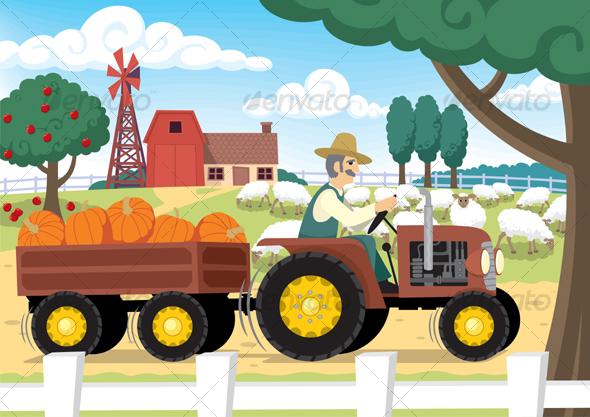 GraphicRiver Farm 98283