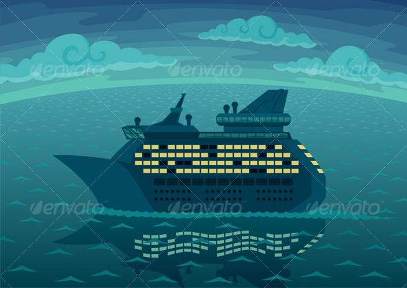 GraphicRiver Night Cruise 102397