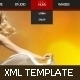 XML Portfolio Template (Youtube) v2 - ActiveDen Item for Sale