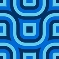 Blue Truchet Pattern (Seamless) - PhotoDune Item for Sale