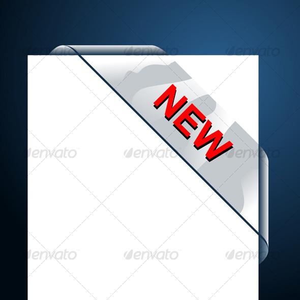 GraphicRiver New Transparent Corner Business Ribbon 105617